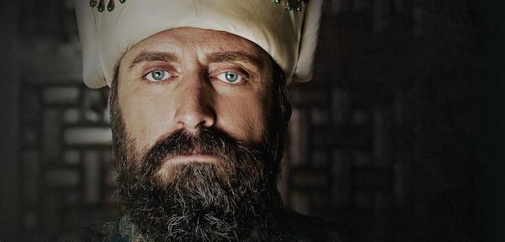 Halit Ergenç, actor que interpreta a Suleiman 'El Magnífico' en la serie El Sultán