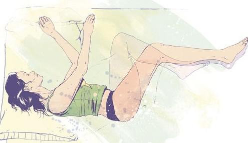 posiciones para dormir si te duele la espalda