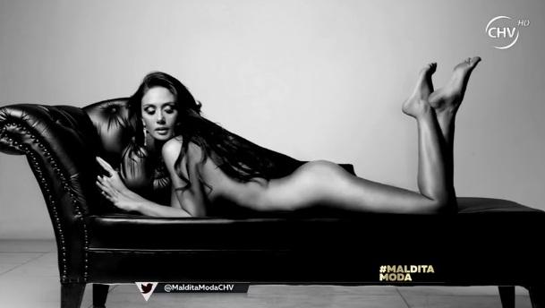 """Pamela Díaz posó desnuda para """"Maldita Moda"""" con 14 kilos menos   TV y Espectáculo   BioBioChile"""