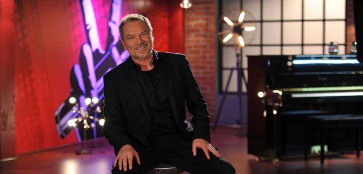 Franco Simone en The Voice Chile.