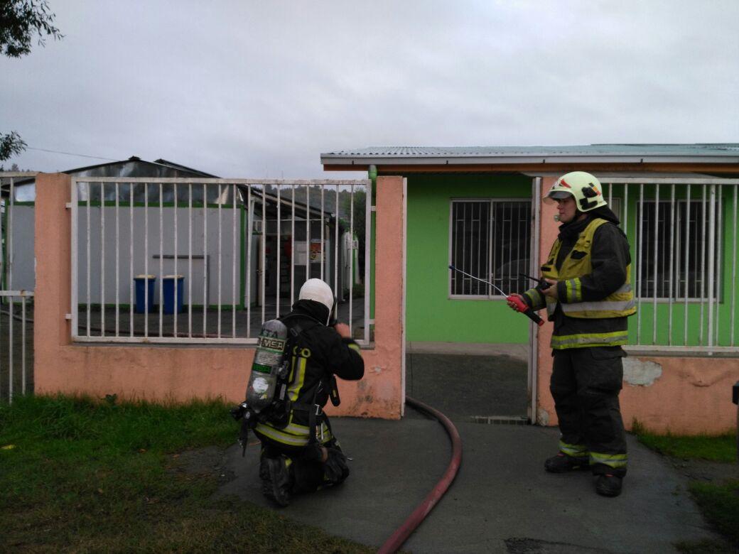 Fuga de gas afecta jard n infantil en sector villa nongu n for Jardin infantil nubesol villa alemana