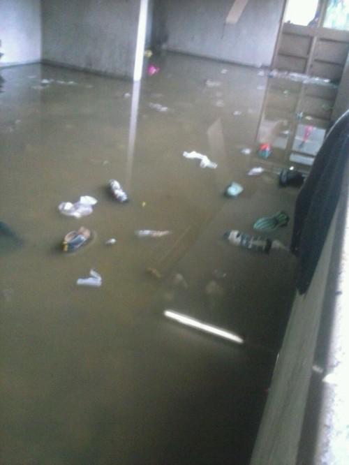 Inundación en Cárcel de Valdivia   RBB
