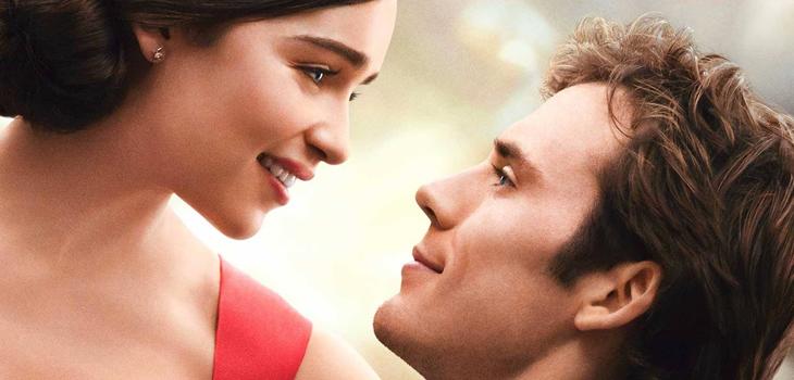 """Detalle del afiche del film """"Yo antes de ti"""""""