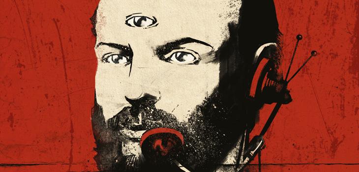 Detalle de la portada de Historia Secreta de Chile
