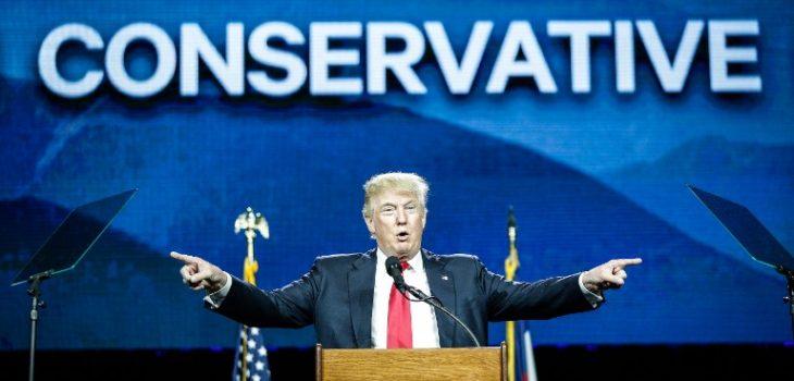 Donald Trump Addresses Western Conservative Summit In Denver