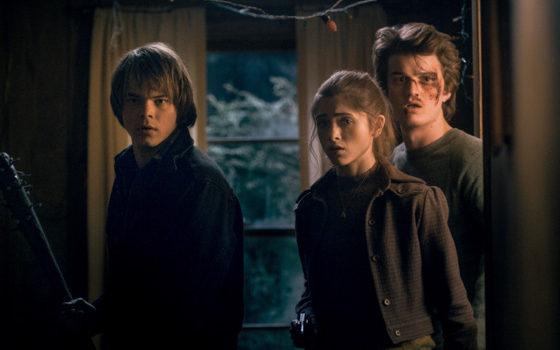 Charlie Heaton, Natalia Dyer y Joe Keery | Netflix