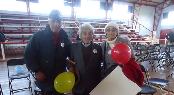 Celino Villanueva (al centro) | www.senama.cl