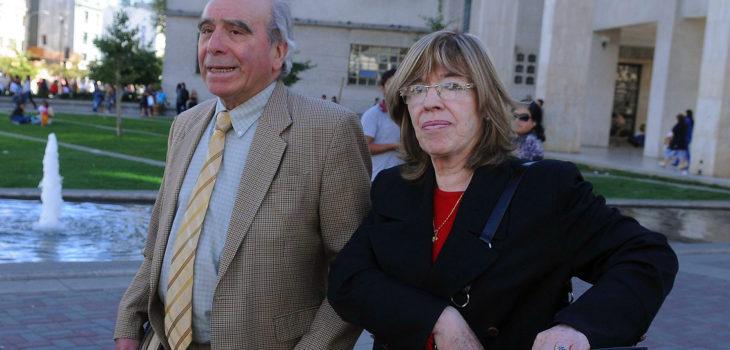 Fernando Saenger junto a María Teresa Johns | ARCHIVO | Agencia UNO