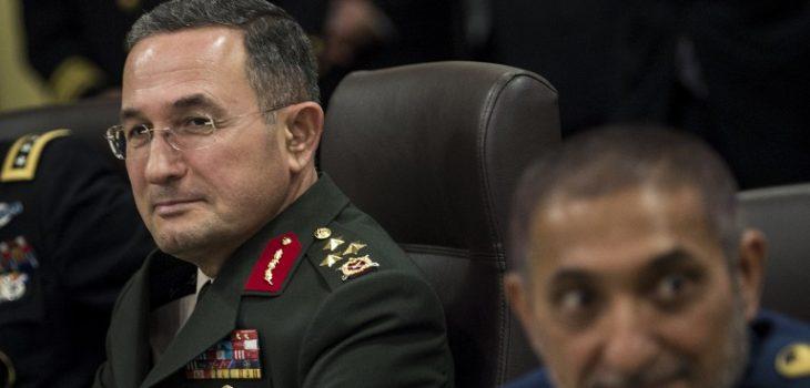 General Ozturk (izquierda) | Brendan Smialowski | AFP