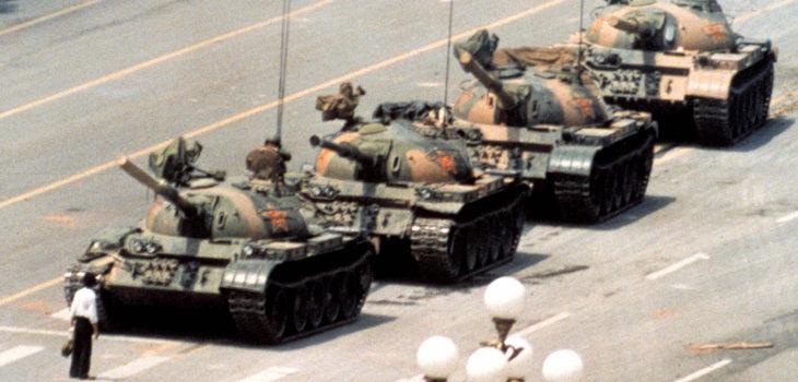 Tank Man | Jeff Widener