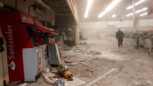 Robo cajero en supermercado de Quinta Normal
