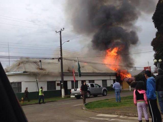 Incendio Quepe