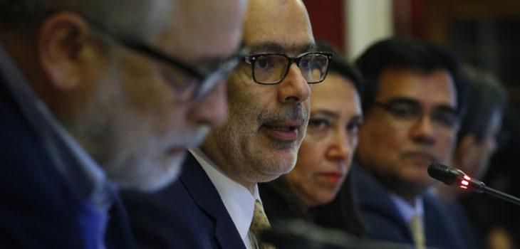 Ministro de Hacienda presento medidas para la productividad ante Comision de Hacienda del Senado