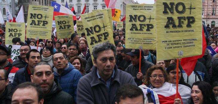 CONTEXTO | Marcha AFP | Agencia UNO