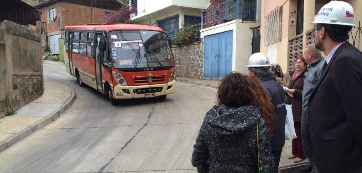 Obras en Baquedano   Serviu Valparaíso