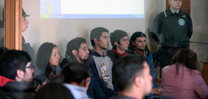 Imputados en control de detención | ARCHIVO | Agencia UNO