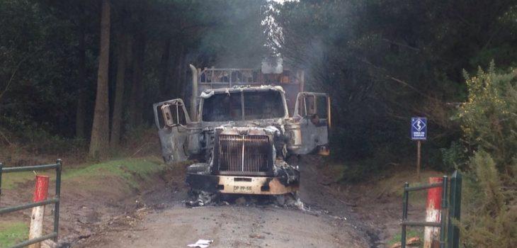 Ataque incendiario en Lautaro | Radio Bío Bío