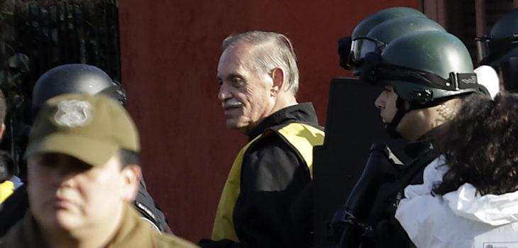 Reconstitucion de escena de asesinato de Miguel Enriquez, padre de Marco Enriquez-Ominani