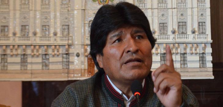 Prensa Palacio Bolivia (Flickr)