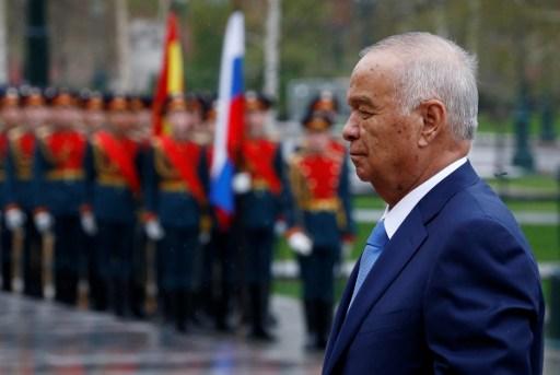 Presidente de Uzbekistán, Islam Karimov | Agencia AFP
