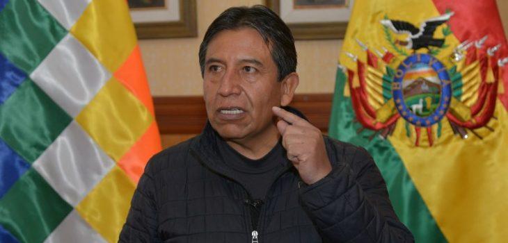 Canciller boliviano David Choquehuanca | Agencia AFP