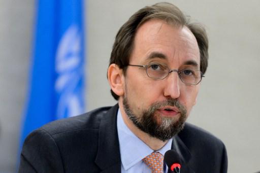Alto Comisionado de la ONU para los Derechos Humanos | Agencia AFP