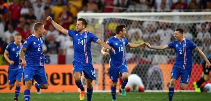 Selección de Islandia |  AFP PHOTO / BERTRAND LANGLOIS