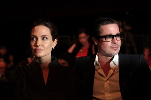 Angelina Jolie Y Brad  | AFP