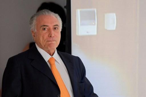 Michel Temer | Agencia AFP