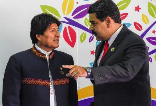 Evo Morales y Nicolás Maduro | Juan Barreto | AFP