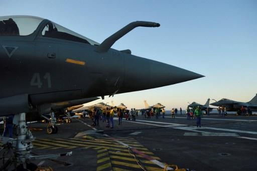 Portaaviones francés | Agencia AFP
