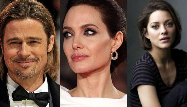 Brad Pitt, Angelina Jolie y Marion Cotillard