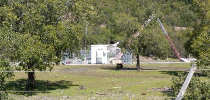 Caída de antena celular en Antuco deja un trabajador muerto y otro herido de gravedad