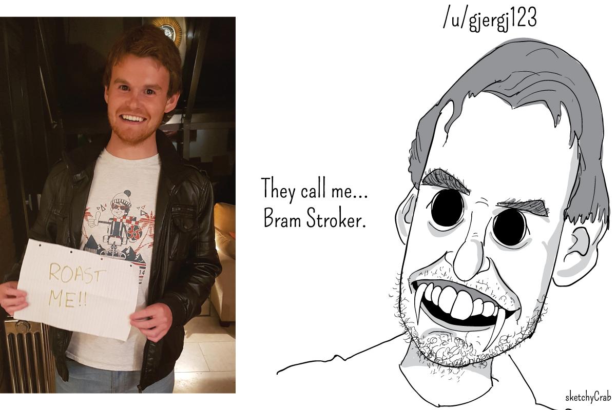 caricaturista Sketchycrab