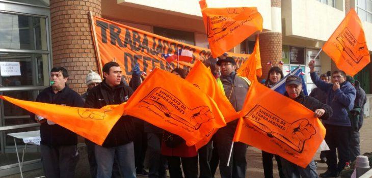 Manifestación en UST | Esteban Sepúlveda