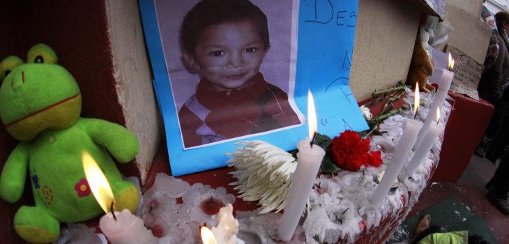 Funeral del menor Ángel Vásquez | Agencia UNO