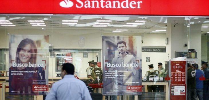 Sucursal del Banco Santander | ARCHIVO | Agencia UNO