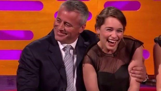 Matt LeBlanc y Emilia Clarke   Youtube