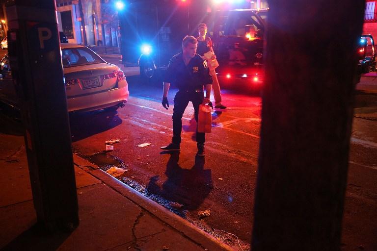 EXPLOSIÓN EN NUEVA YORK: policía