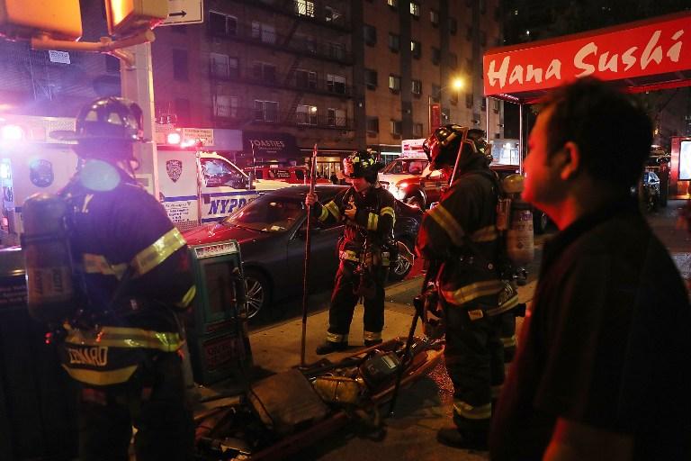 """EXPLOSIÃ""""N EN NUEVA YORK: Bomberos"""