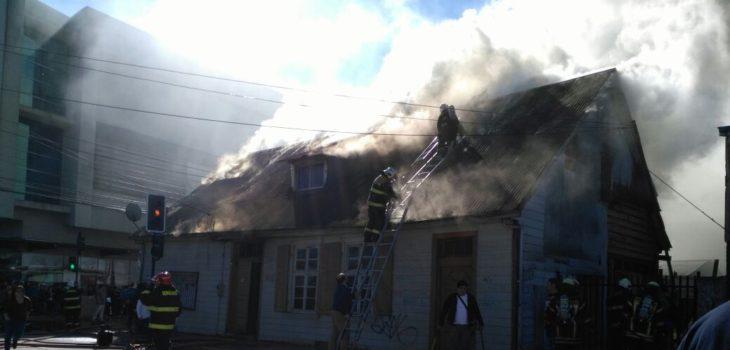 Incendio en Osorno | Tania Lavado | RBB