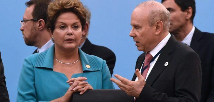 Dilma Rousseff y Guido Mantega | ARCHIVO | Agence France-Presse