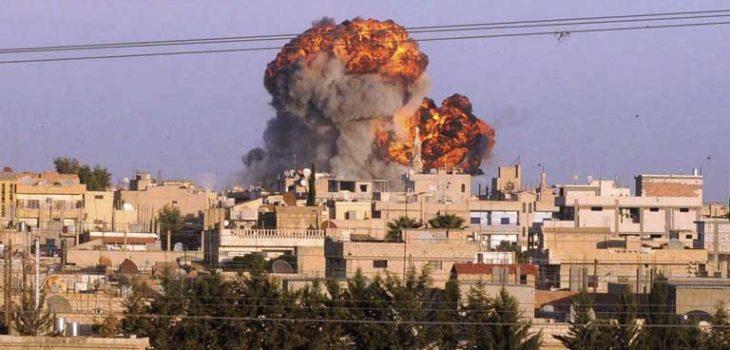 ARCHIVO | Bombardeos en Siria
