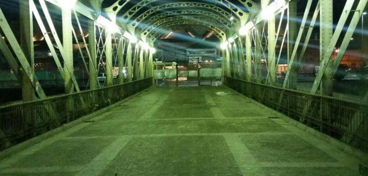 Puente Peatonal Los Carros | Municipalidad de Santiago