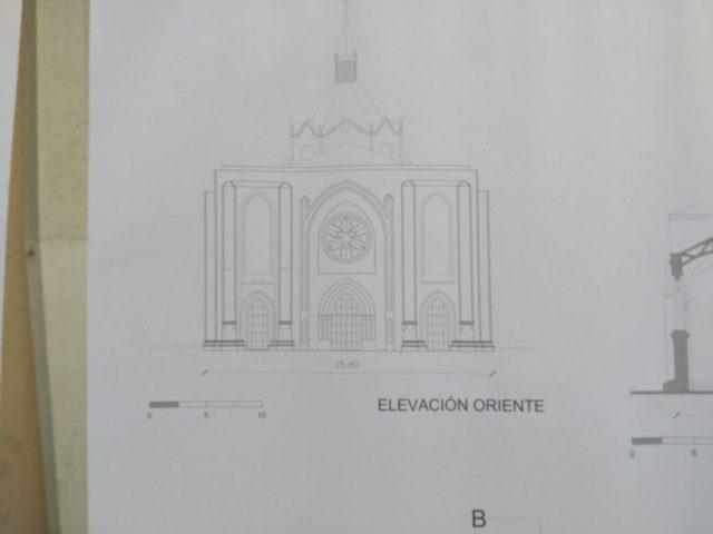 Planos de la remodelación de Parroquia XII Apóstoles de Valparaíso