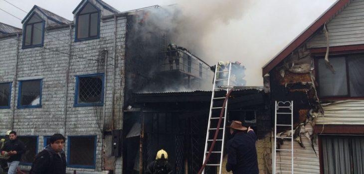 Incendio en Puerto Montt | Marco Hernández
