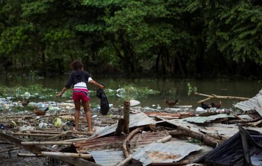 Paso de Matthew por República Dominicana | Agencia AFP