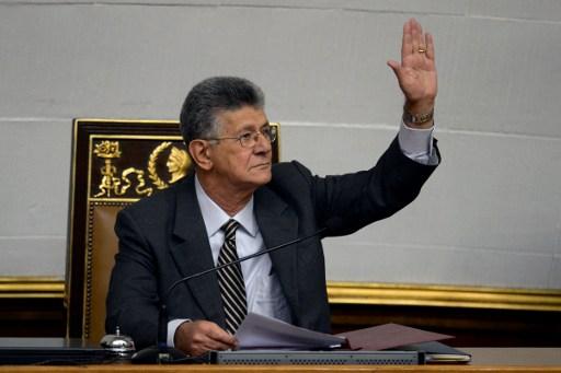 Henry Ramos Allup, presidente del Parlamento | Agencia AFP