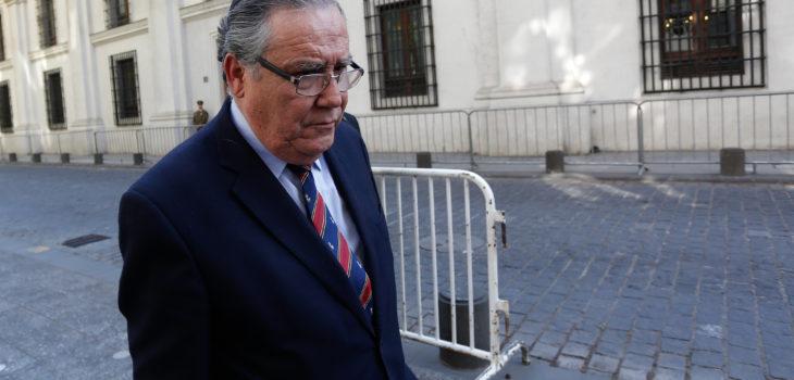 Jaime Campos Quiroga | Ministro de Justicia | Agencia UNO