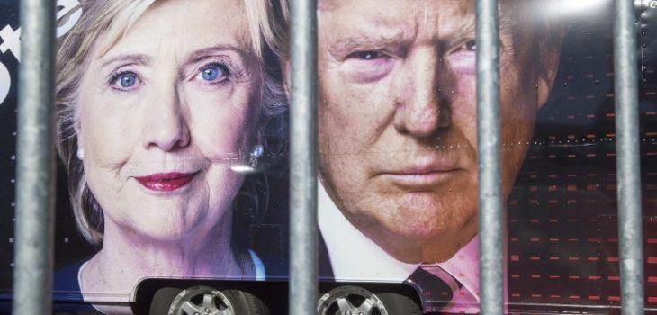 Clinton y Trump   Paul J. Richards   AFP